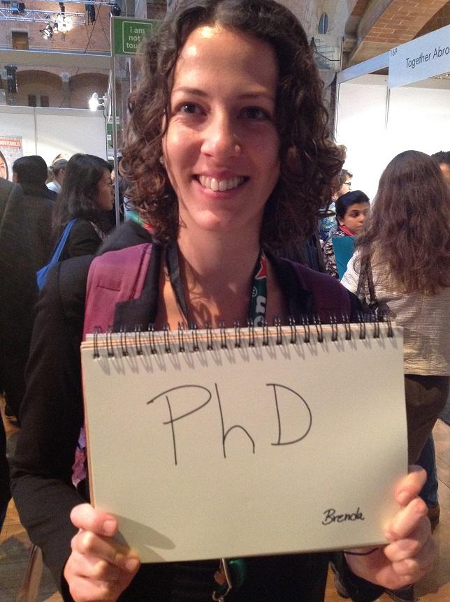 ブラジルから来ているBrendaさんは、生物学の博士号を取るためにオランダで研究しています。 彼女からたくさんの質問を受け、どのくらい滞在しているか聞き忘れてしまいました。